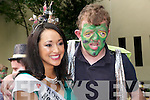 """IO Concert : Alan Murray, Oakpark, Tralee who took part in  the I.O. Performing Arts Concert """"My Big Fat Bug Wedding """" in Pearse Park, Tralee  on Monday meets the 2011 Rose Tara Talbot."""
