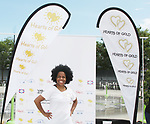 Another World's and singer Rhonda Ross sang the National Anthem  - Hearts of Gold 7th Annual Run/Walk for Kids with proceeds from this fun family event will change the futures of homeless mothers and their children on June 3, 2017 at Pier 84 Hudson Parks, New York City, New York. It supports Hearts of Gold Annual Back to School Programs. (Photo by Sue Coflin/Max Photos)