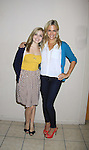 """General Hospital's Kate Sullivan """"Kate"""" (R) and Jen Lilley """"ex-Maxie"""" at Uncle Vinnie's on September 9, 2012 in Pt. Pleasant, New Jersey to see their fans for autographs, meet/greet and photos.  (Photo by Sue Coflin/Max Photos)"""