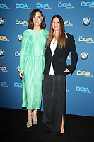 BEVERLY HILLS, CA - FEBRUARY 3: Frankie Shaw and Niki Caro in the press room at the 70th Annual DGA Awards at The Beverly Hilton Hotel in Beverly Hills, California on February 3, 2018. <br /> CAP/MPI/FS<br /> &copy;FS/MPI/Capital Pictures