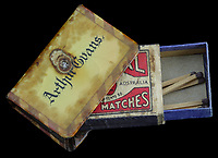 BNPS.co.uk (01202 558833)<br /> Pic:  Spink&Son/BNPS<br /> <br /> Pictured: Lance Sergeant Arthur Evans's matchbox.<br /> <br /> The Victoria Cross awarded to a hero sergeant who swam across a river and single-handedly took out a German enemy machine gun post has emerged for sale for £150,000.<br /> <br /> Lance Sergeant Arthur Evans crawled up behind the post and shot the sentry and another man, before making four more surrender.<br /> <br /> His exploits, which saw him receive the highest honour for gallantry, were all the more remarkable as ten months earlier he was gassed in the trenches of the Western Front.<br /> <br /> Sgt Evans, of 6th Battalion, Lincolnshire Regiment, also received a prestigious Distinguished Conduct Medal after storming another machine gun post in a separate raid. On that occasion, he killed 10 Germans and took one survivor who provided 'valuable information'.<br /> <br /> His medal group, as well as a gold pocket watch he was presented on his return to Britain following the conflict, are being sold by his family with London based auction house Spink & Son.