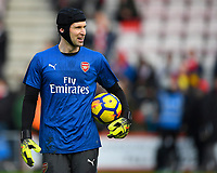 Petr Cech of Arsenal during AFC Bournemouth vs Arsenal, Premier League Football at the Vitality Stadium on 14th January 2018