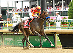 May 3, 2019 : McKinzie, trained by Bob Baffert, wins the Alysheba (G2) at Churchill Downs on May 3, 2019 in Louisville, KY. Jessica Morgan/ESW/CSM