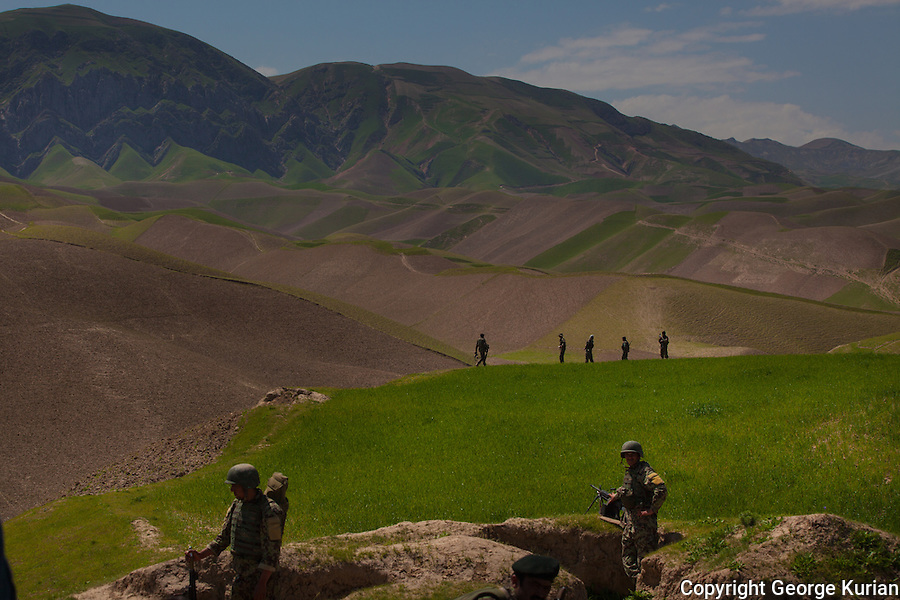 The operation to flush out local Taliban and the setting of a police check post in Qaragholi.