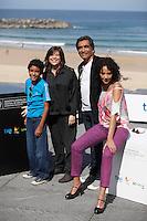 "Actor Samuel Lange, director Mariana Rondon, Beto Benites and actress Samantha Castillo presenting ""Pelo Malo"" film during the 61 San Sebastian Film Festival, in San Sebastian, Spain. September 21, 2013. (ALTERPHOTOS/Victor Blanco) /NortePhoto"
