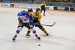 15.04.2018, EnergieVerbund Arena, Dresden, GER, Euro Hockey Challenge, Deutschland vs. Slowakei, im Bild<br /> <br /> <br /> Michal Kristof (#13, Slowakei), Stefan Loibl (#15, Deutschland),<br /> <br /> Foto &copy; nordphoto / Dostmann