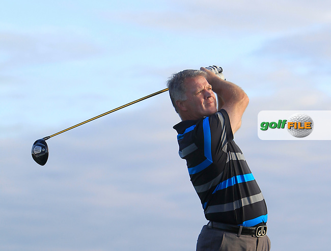 Eddie Power (Kilkenny) on the 2nd tee during Matchplay Round 1 of the South of Ireland Amateur Open Championship at LaHinch Golf Club on Friday 24th July 2015.<br /> Picture:  Golffile | Thos Caffrey