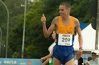 SAO PAULO, SP, 09.04.2016 -MARATONA-SP- Franck Caldeira de Almeida ,conquista o terceiro lugar nos 42 KM com o tempo de 02:21:53 durante a 23ª edição da Maratona Internacional de São Paulo, realizado na cidade de São Paulo, SP, neste domingo (09). (Foto: Danilo Fernandes/Brazil Photo Press)