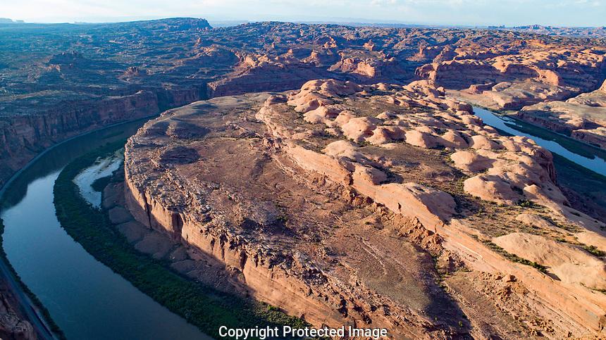 Bends of the Colorado River near Moab, Utah