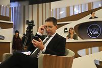 SÃO PAULO, SP, 02.09.2019 - POLITICA-SP - Glenn Edward Greenwald, Jornalista, Advogado e Escritor Norte-Americano, fundador do The Intercept, participa de entrevista no Programa Roda Viva, na TV Cultura, nesta segunda-feira, 2. (Foto Charles Sholl/Brazil Photo Press)