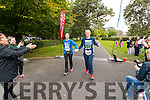 Siobhan Dowling, and Mary Twomey, Listowel, pictured after completing the 24 hour run held in Tralee Town Park on Sunday last.