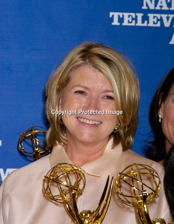Martha Stewart..at the Daytime Emmy Creative Craft Awards on May 15, 2004 at the Marriott Marquis Hotel.                                        Photo by Robin Platzer, Twin Images