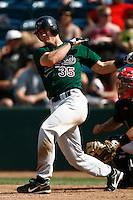 May 20, 2007: John Hester of the Visalia Oaks bats against the Rancho Cucamonga Quakes at The Epicenter in Rancho Cucamonga,CA.  Photo by Larry Goren/Four Seam Images