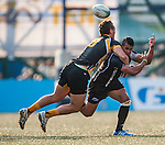 XXX vs XXX during day 2 of the 2014 GFI HKFC Tens at the Hong Kong Football Club on 27 March 2014. Photo by Juan Flor / Power Sport Images