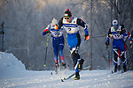 Classical spint races during the U.S. National Cross Country Ski Championships at Kincaid Park in Anchorage, Alaska Monday, January 8, 2018