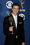 LOS ANGELES, CA. - September 20: Singer Justin Timberlake poses in the press room at the 61st Primetime Emmy Awards held at the Nokia Theatre on September 20, 2009 in Los Angeles, California.