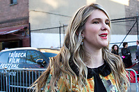 "NEW YORK, NEW YORK - APRIL 24: Actor Lily Rabe attends the opening night of the Tribeca Film Festival of 2019, world premiere of HBO's documentary film ""The Apollo,"" at the Apollo Theater on April 24, 2019 in New York. (Photo by Pablo Monsalve/VIEWpress/Corbis via Getty Images)"