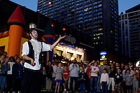Toronto (ON), July 20, 2007 - Indigo Magically Transforming Bay Street into Canada's Largest Harry Potter Street Party. Indigo Books & Music is closing down Bay Street (between Charles St. and Bloor St.) and celebrating Midnight Magic, the<br /> largest Harry Potter street party in Canada in celebrating the release of Harry Potter and the Deathly Hallows.
