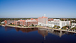 St. Vincents Medical Center Jacksonville Florida helicopter aerial oblique