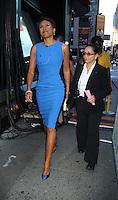 August 29, 2012 Robin Roberts host of Good Morning America  in New York City.Credit:© RW/MediaPunch Inc. NortePhoto.com<br /> <br /> **CREDITO*OBLIGATORIO** <br /> *No*Venta*A*Terceros*<br /> *No*Sale*So*third*<br /> *** No*Se*Permite*Hacer*Archivo**<br /> *No*Sale*So*third*