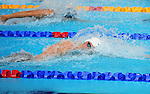 Wales' Calum Jarvis competes in the Men's 4 x 100m Freestyle Relay - Heat 1<br /> <br /> Photographer Chris Vaughan/Sportingwales<br /> <br /> 20th Commonwealth Games - Day 2 - Friday 25th July 2014 - Swimming - Tollcross International Swimming Centre - Glasgow - UK