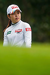 Su-Yeon Jang of Korea looks on during the Hyundai China Ladies Open 2014 Pro-am on December 10 2014 at Mission Hills Shenzhen, in Shenzhen, China. Photo by Xaume Olleros / Power Sport Images