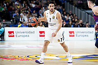 Facundo Campazzo of Real Madrid during Turkish Airlines Euroleague match between Real Madrid and FC Barcelona Lassa at Wizink Center in Madrid, Spain. December 13, 2018. (ALTERPHOTOS/Borja B.Hojas) /NortePhoto.com