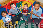 Ardfert Community Childcare Centre are holding Easter Camps next week to help entertain children during the school break. .L-R Rodrigo Pinho, Mark Kelly, Peter O'Mahony and Seamus O'Halloran.