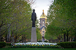 4.24.16 Our Lady of the University Statue.JPG by Matt Cashore/University of Notre Dame