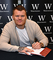 John Arne Riise, retired Norwegian footballer, who played for Liverpool, signs copies of his autobiography, Running Man, at Waterstones Leadenhall Market,  London, UK  on 4 December 2018.<br /> CAP/JOR<br /> &copy;JOR/Capital Pictures