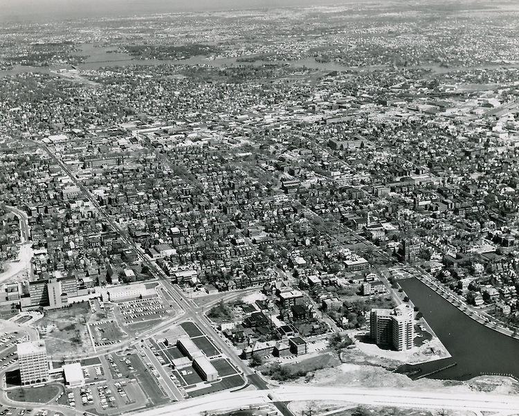UNDATED..Historical..View looking Northwest.All of Ghent.EVMS Medical School campus in lower left..Fariss Pictures.NEG# 11705.NRHA# 980-A..
