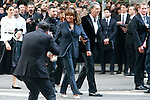 Tina Turner and Erwin Bach arrive for the Giorgio Armani 40th Anniversary fashion show and Silos Opening one day before Expo 2015, in Milan on April 30, 2015.