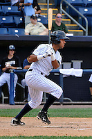 Staten Island Yankees shortstop Cito Culver #2 during a game against the Jamestown Jammers at Richmond County Bank Ballpark at St. George on August 01, 2011 in Staten Island, NY.  Staten Island defeated Jamestown 5-0.  Tomasso DeRosa/Four Seam Images