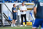 Co-Trainer Matthias Kaltenbach (Hoffenheim, l.) mit Trainer Julian Nagelsmann (Leipzig, r.).<br /> <br /> Sport: Fussball: 1. Bundesliga: Saison 19/20: 31. Spieltag: TSG 1899 Hoffenheim - RB Leipzig, 12.06.2020<br /> <br /> Foto: Markus Gilliar/GES/POOL/PIX-Sportfotos