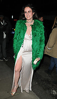 Samantha Michelle at the LFW (Men's) a/w2018 GQ Dinner, Berners Tavern, The London Edition Hotel, Berners Street, London, England, UK, on Monday 08 January 2018.<br /> CAP/CAN<br /> &copy;CAN/Capital Pictures