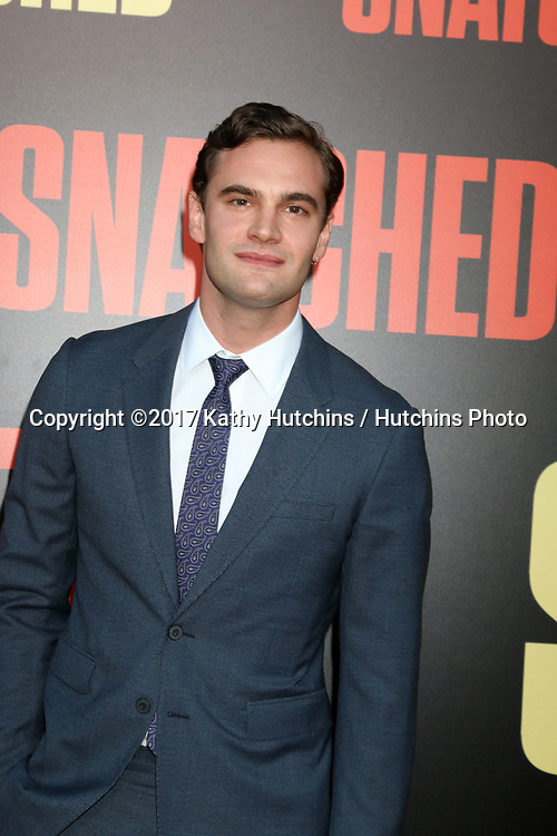 "LOS ANGELES - MAY 10:  Tom Bateman at the ""Snatched"" World Premiere at the Village Theater on May 10, 2017 in Westwood, CA"
