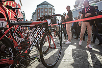 Cofidis Team Bikes race ready<br /> <br /> 104th Liège - Bastogne - Liège 2018 (1.UWT)<br /> 1 Day Race: Liège - Ans (258km)