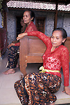 Balinese Women Relaxing