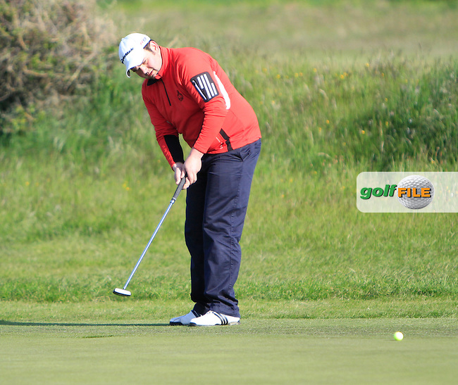 Craig Martin (Kilkenny) during the first round of the East of Ireland Amateur Open Championship 2013 Co Louth Golf club 1/6/13<br /> Picture:  Thos Caffrey / www.golffile.ie