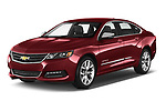 2020 Chevrolet Impala Premier 4 Door Sedan Angular Front automotive stock photos of front three quarter view