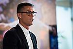 Soccer player Cristiano Ronaldo renews his contract with Real Madrid until 2021 at Santiago Bernabeu Stadium in Madrid. November , 2016. (ALTERPHOTOS/Borja B.Hojas)