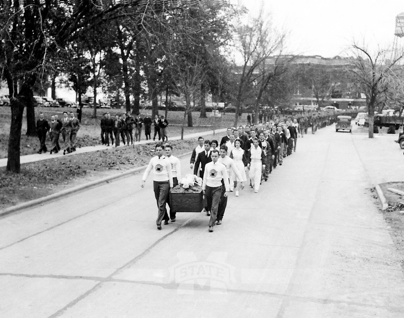 Funeral Procession for Bully <br />