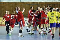 Nikola Bilyk se bucura la finalul meciului