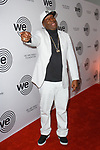 DJ Grandmaster Flash arrives at the We Are Family Foundation 2018 celebration gala at the Hammerstein Ballroom in New York City, on April 27 2018.