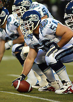 Chad Folk Toronto Argonauts 2003. Photo Scott Grant