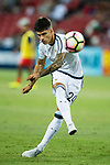 Carlos Correa of Argentina warming up during the International Test match between Argentina and Singapore at National Stadium on June 13, 2017 in Singapore. Photo by Marcio Rodrigo Machado / Power Sport Images