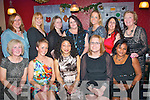 Staff from Tralee IT campus kids créche celebrated their Christmas party in Kirby's Brogue last Saturday night, present were (seated) L-R Marie O'Sullivan, Deirdre O'Donoghue, Ola King-Chaninomni, Breda Daly and Ola Babs (back) L-R Deirdre Keane, Kate Edwards, Rose O'Brien, Lorna O'Connor, Mairéad Walsh, Liz Clifford and Helen Smith.