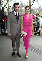 Jessica Wright and Ricky Rayment arriving for the TRIC Awards 2014, at Grosvenor House Hotel, London. 11/03/2014 Picture by: Alexandra Glen / Featureflash