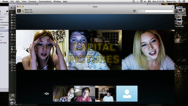 Unfriended (2014) <br /> Courtney Halverson, Jacob Wysocki, Moses Jacob Storm, Renee Olstead, Shelley Hennig<br /> *Filmstill - Editorial Use Only*<br /> CAP/KFS<br /> Image supplied by Capital Pictures