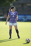 Taylor Romano (4) of the High Point Panthers prepares to take a free kick during first half action against the Duke Blue Devils at Koskinen Stadium on September 11, 2016 in Durham, North Carolina.  The Blue Devils defeated the Panthers 4-1.   (Brian Westerholt/Sports On Film)